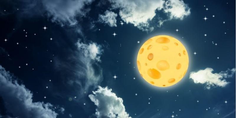 Chi vi promette la luna, vi darà sicuramente una formaggia